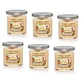 Yankee Candle Company Vanilla Cupcake 7-Ounce Tumbler Candle, Small, Set of 6