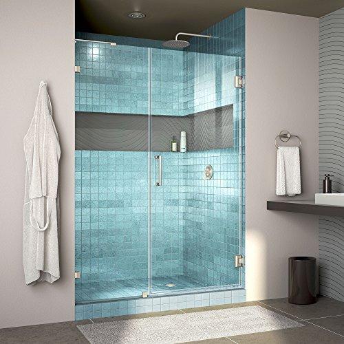 Frameless Hinged Shower Door - 9
