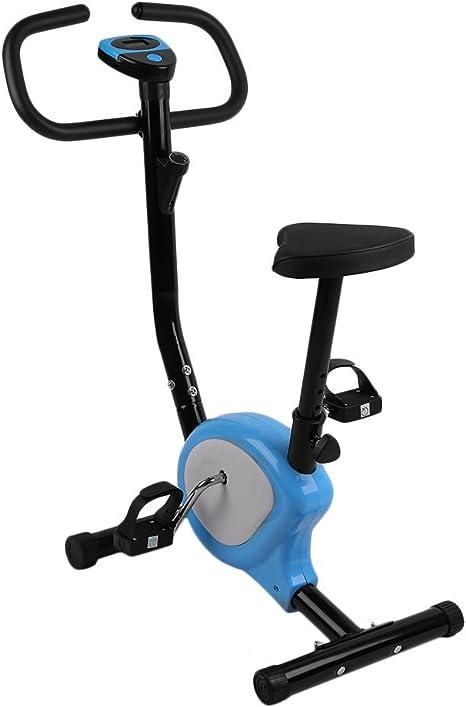 Bicicleta Estática, Ejercicio en Casa, Pantalla LCD, Cómodos ...