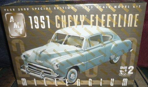 #30264 AMT 1951 Chevy Fleetside 1/25 Scale Plastic model kit,needs assembly