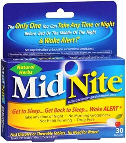 MidNite Sleep Aid Tablets Pack product image