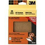 3M 99221ES 4.5-Inch by 5.5-Inch Clip-On Palm Sander Sheets, Medium grit, 15-pack
