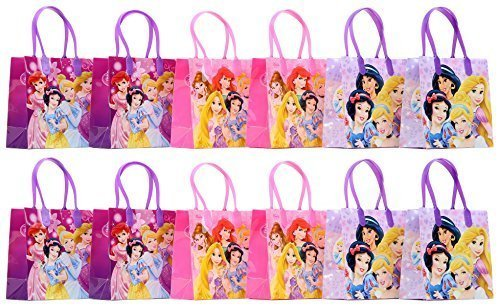 Disney Princess Party Favor Goodie Gift Bag - 6