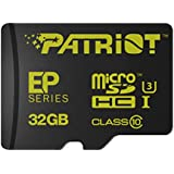 Patriot Extreme Performance Series 32 GB MicroSDHC Card U3, UHS-I, Class-10 Compliant  - Supports 4K Video Recording