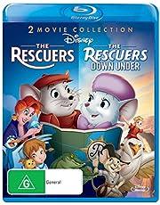 The Rescuers / The Rescuers Down Under - Bernard et Bianca au pays des kangourous [2 films BLU-RAY]