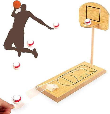 DBlosp Juego de Baloncesto, Mini Mesa de Escritorio portátil de ...