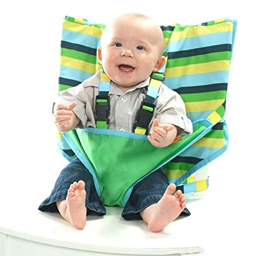 My Little Seat Travel High Chair, Seaside - Chair Travel High Fabric
