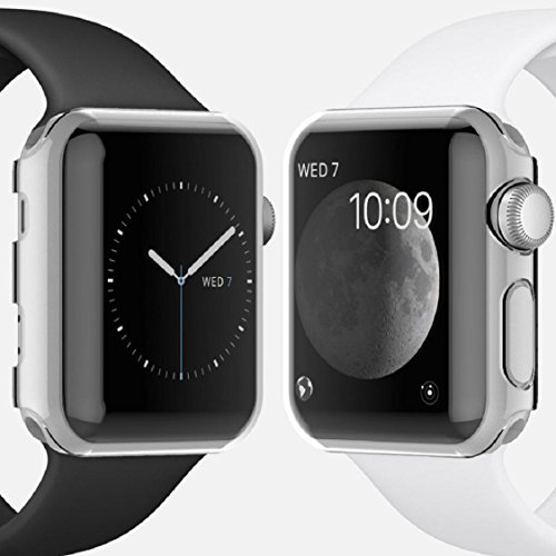 Apple Watch Case,Sunfei Ultra-Slim Cystal Clear PC Hard Protective Case Cover for Apple Watch (42mm) by Sunfei (Image #1)