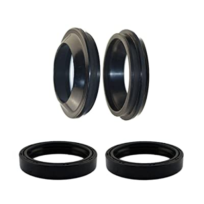 AHL Front Fork Shock Oil Seal and Dust Seal Set 41mm x 54mm x 11mm for Honda VT750 DCA Shadow Spirit 2003-2006: Automotive