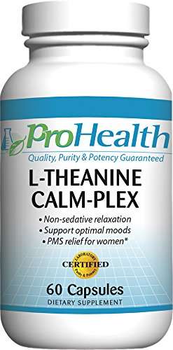 L Theanine Calm Plex Suntheanine capsules ProHealth