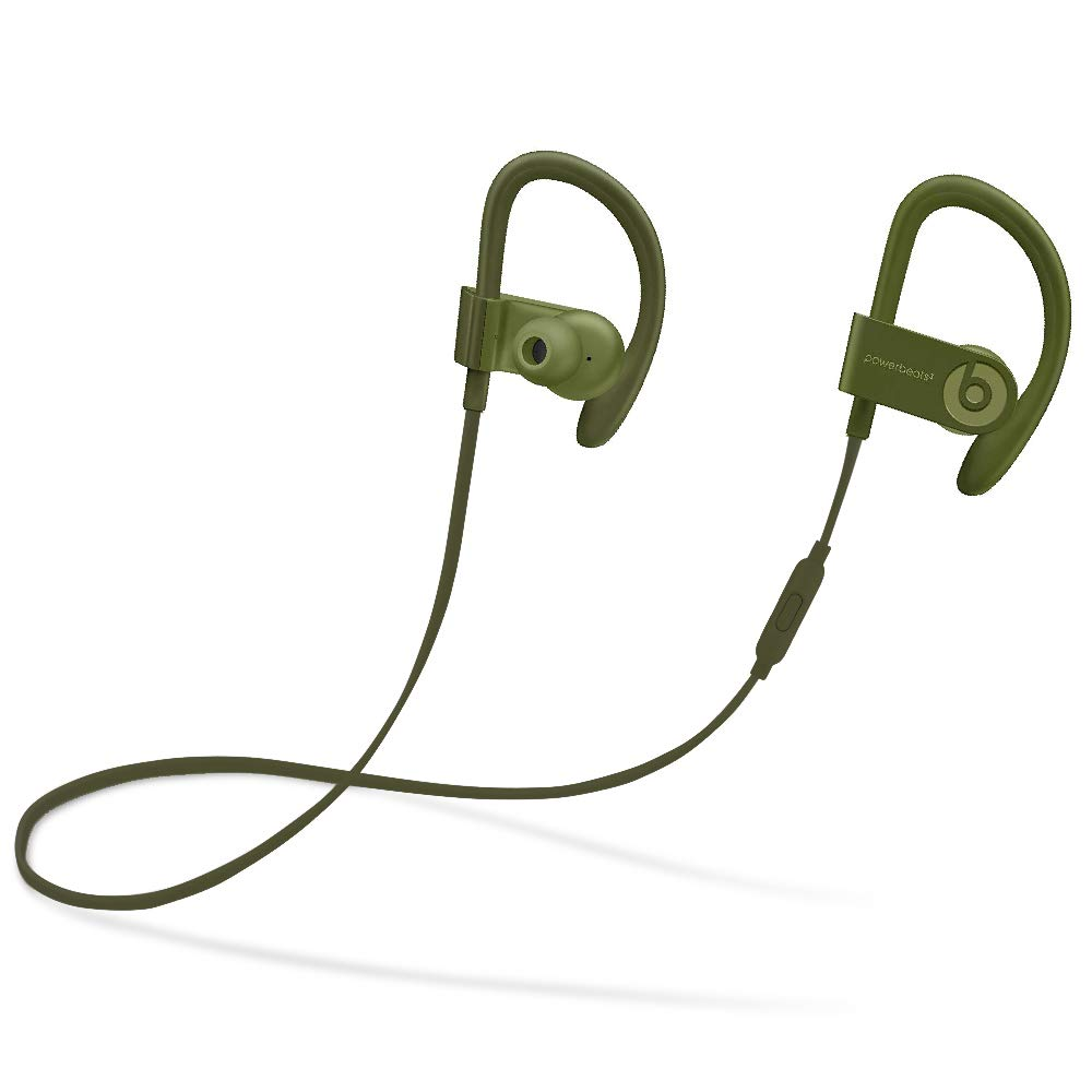 Beats Powerbeats3 Series Wireless Ear-Hook Headphones - Turf Green (MQ382LL/A) (Renewed) by Beats (Image #1)
