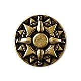 Compass Lapel Pin