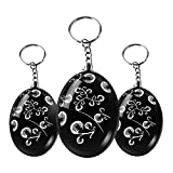 Personal alarm 3 pack for women by RPS - 120 dB SOS Emergency Personal Alarm Keychain Self Defense for Elderly Kids Adventurer Night Workers Anti-theft Alarm Policeman Recommend for purse