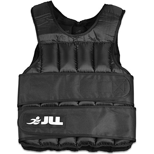 JLL Weight Vest -10kg, Adjustable Weighted Vest Weight Loss Running Gym Training (10 Kilograms)