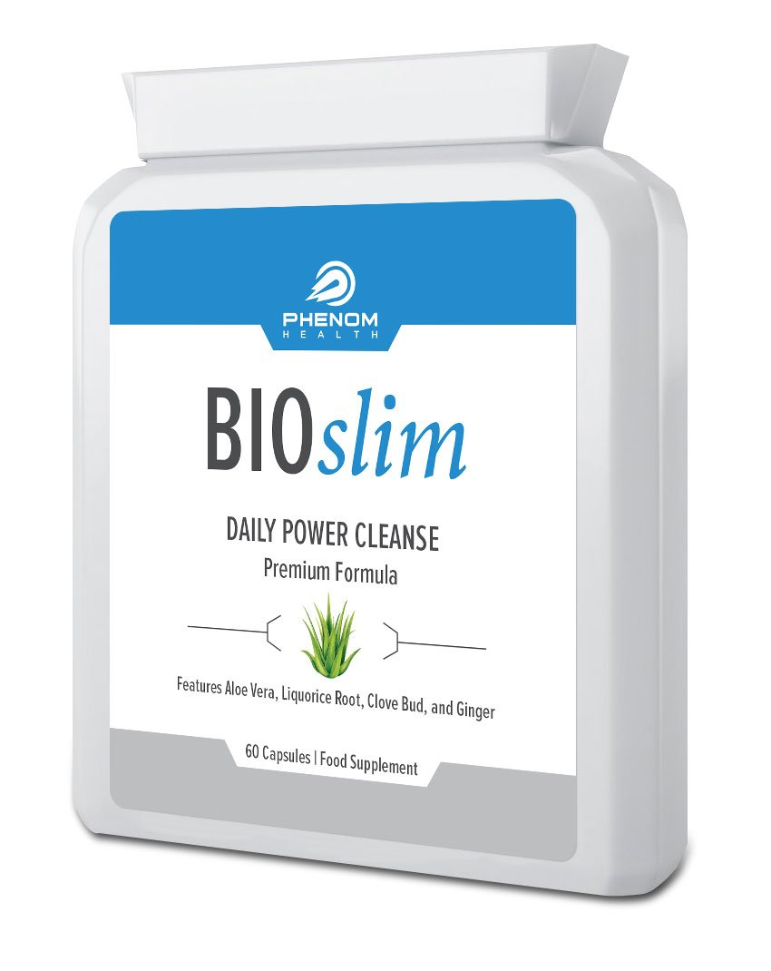 bioslim daily power cleanse 60 capsules amazoncouk health personal care - Ultrapur Wild Raspberry Ketone Et Bioslim Daily Power Cleanse