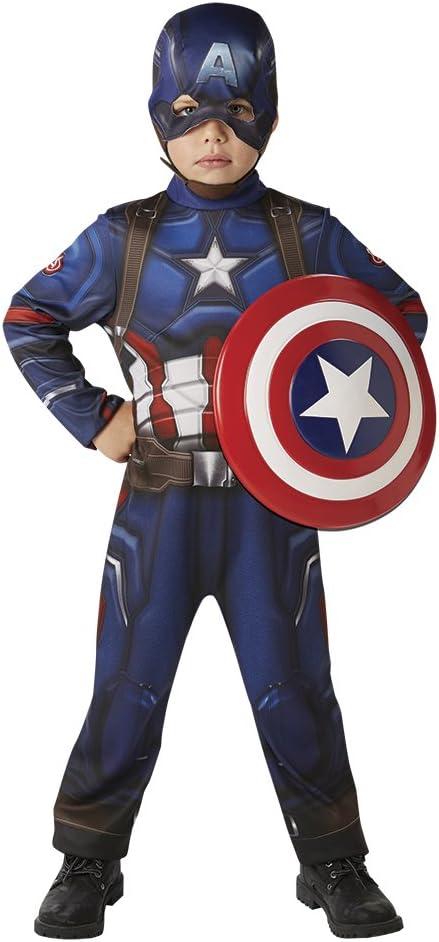 Avengers Disfraz Capitan America Classic Con Escudo Cw En Caja Inf ...