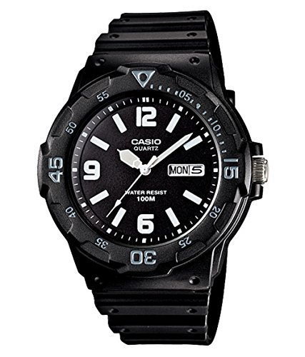 Casio Gents Rotating Bezel 100 Meter Water Resistance Watch MRW200H-1B2V