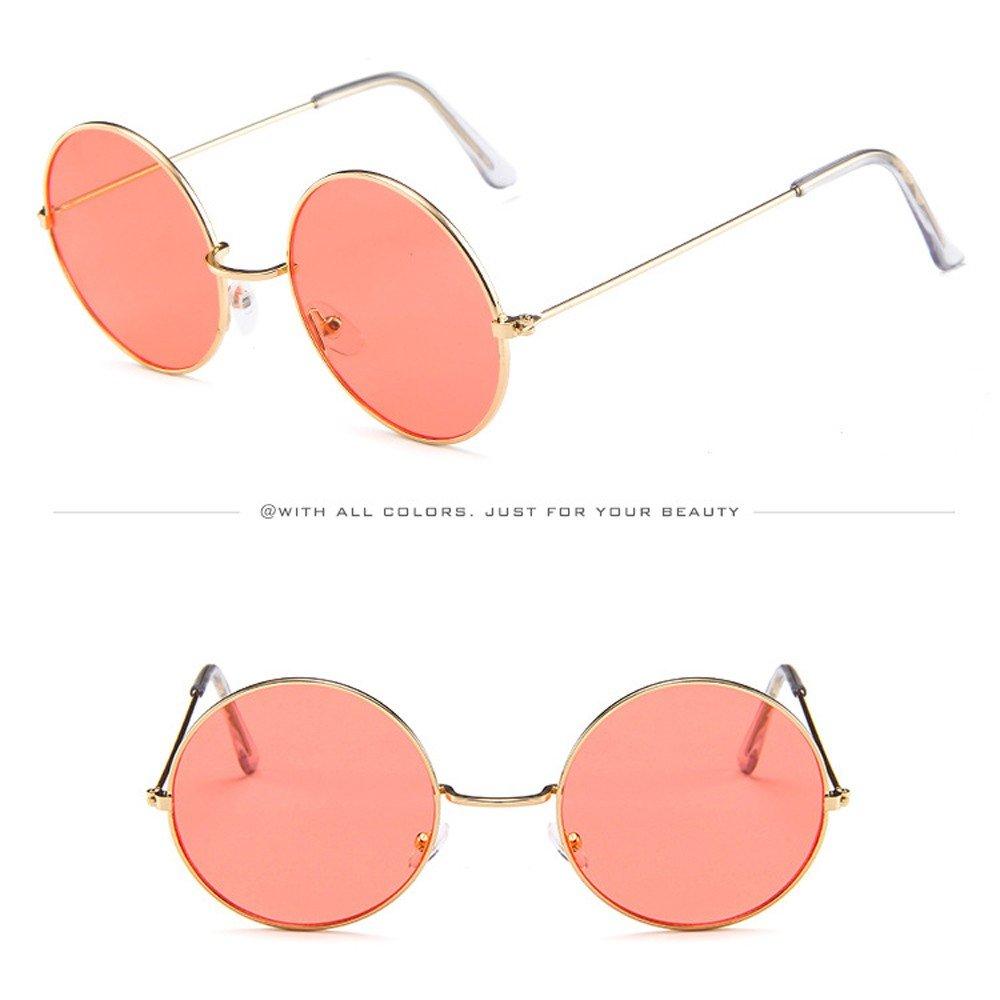 Gafas de Sol Mujer,JiaMeng Moda Vintage Retro Gafas Unisex C/írculo Marco Gafas de Sol Gafas JMMJ45