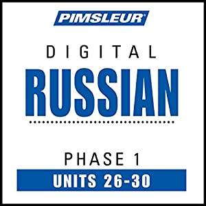 Russian Phase 1, Unit 26-30 Speech