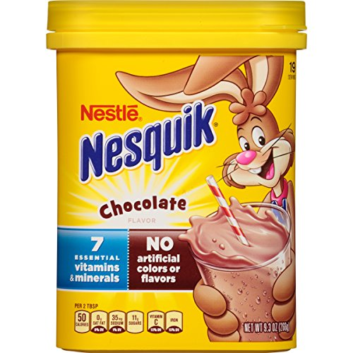 Chocolate Milk Mix (Nestle Nesquik Chocolate - 9.3 OZ)