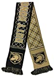 RUFFNECK NCAA Army Black Knights Argyle Scarf, One Size, Gold