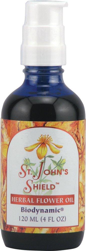 Flower Essence St. John's Shield Flower Oil -- 4 fl oz
