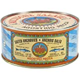 Agostino Recca Salted Anchovies - 2.2 lb