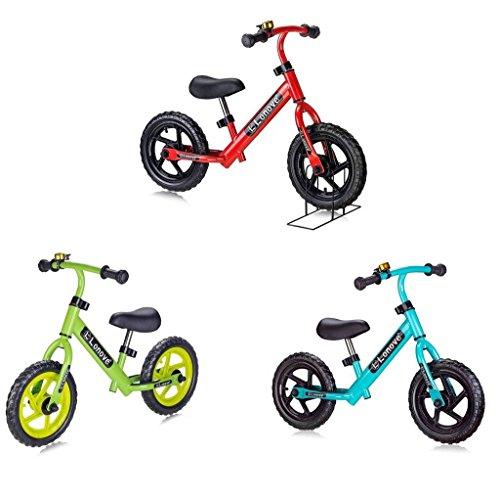 Buy Bargain Child' 12 Balance Bike by LONOVE No-Pedal Push Walk Run Stride Desig- First Bike For Ba...