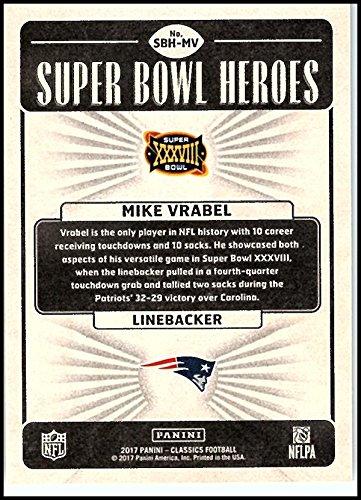 2017 Panini Classics Super Bowl Heroes #MV Mike Vrabel New England Patriots