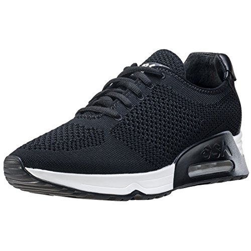 Black Ash Womens Knit ASH Lucky Trainers black 0gqOxX