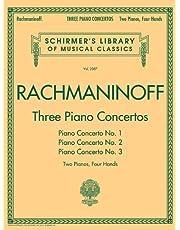Three Piano Concertos: Nos. 1, 2, and 3: Schirmer Library of Classics Volume 2087 2 Pianos, 4 Hands