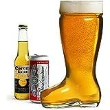 Bicchiere gigante per birra, a forma di stivale
