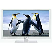 Supersonic SC-1511 White 15.6 1080p LED Widescreen HDTV with HDMI & USB Input