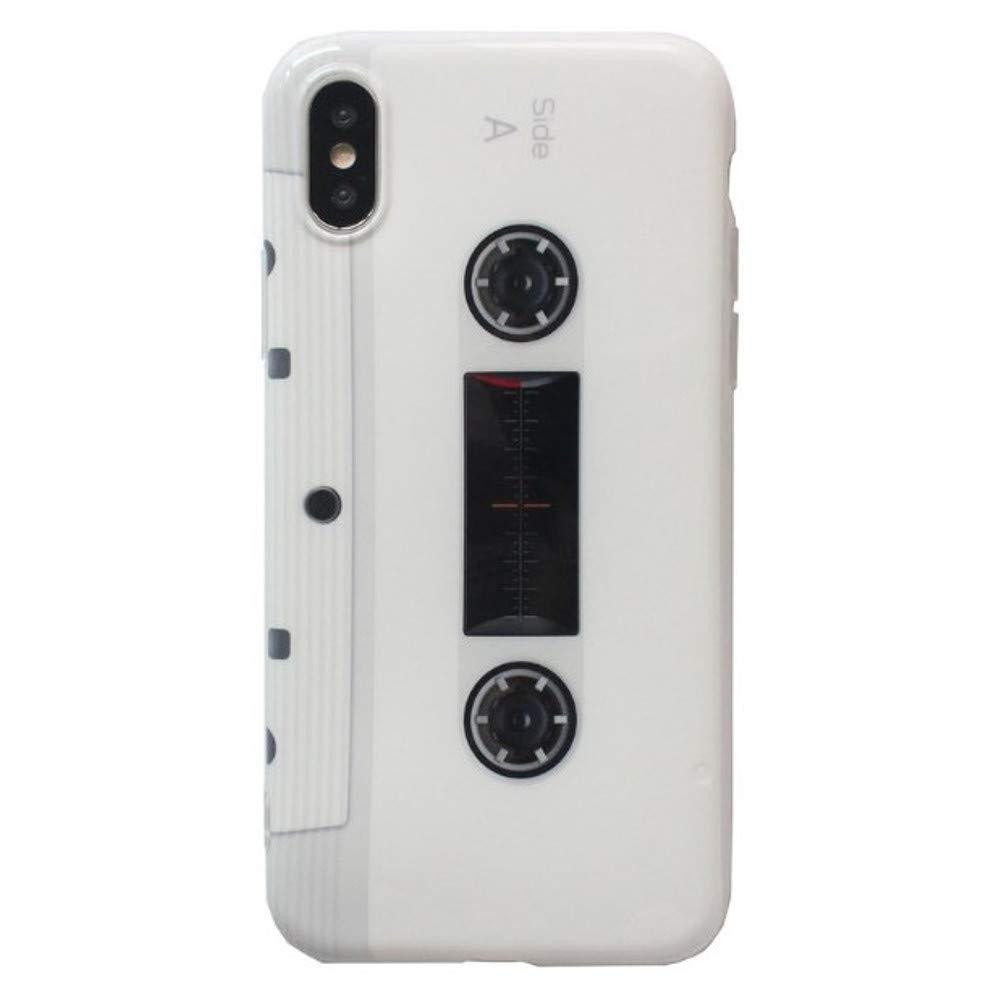 61b5549e79 Amazon | Spinas(スピナス)アイフォンケース ウォークマンみたい レトロ カセットテープ デザイン iPhoneX XSMAX XR  iPhone7/8 7Plus/8Plus iPhone6/6S 6Plus/6SPlus ...