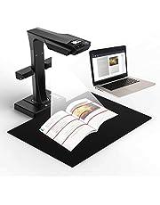 CZUR ET Series Escáner de Libros Primo con OCR Inteligente, Escáner de Documentos con HD Cámara, Sencilla y Rápida