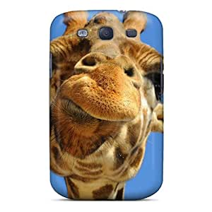 Tearproof High Quality On AccDavid Giraffe Case For Galaxy S3 Case