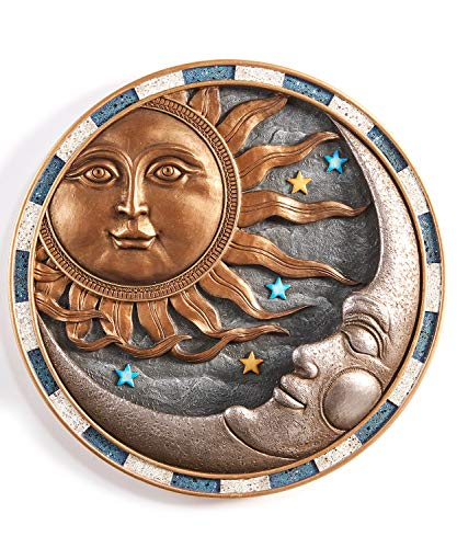 (Giftcraft Sun and Moon Design Wall Bird Feeder)