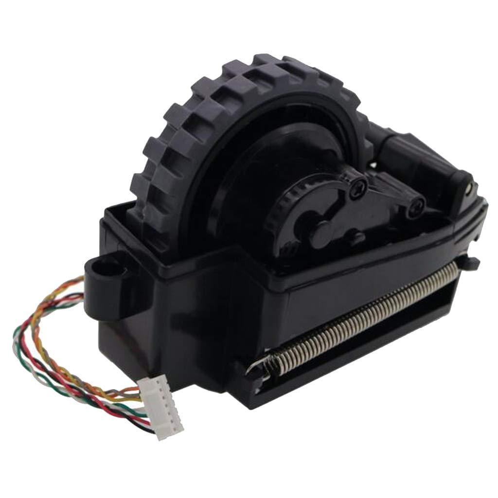 SM SunniMix 1 Unidad Rueda de Motor de Aspiradoras Adecuado para Ilife V7 V7s V7s Pro V7s Plus - Negro Rueda Derecha: Amazon.es: Hogar