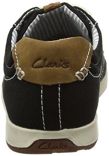 Clarks Herren Norwin Vibe Derby Schwarz (Black Textile)