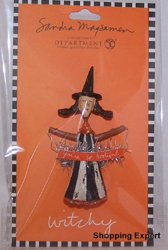 Sandra Magsamen Department 56 Halloween Witch Pins