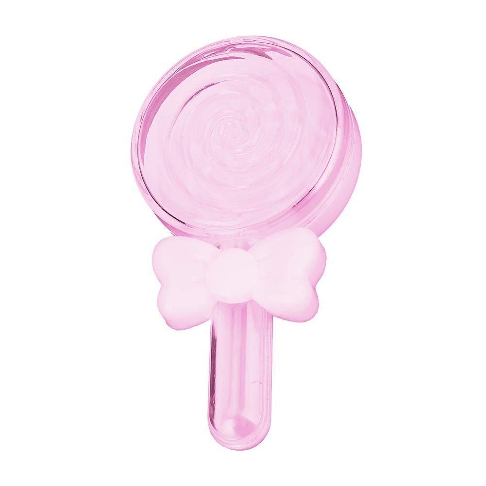 Alinory Scatola di Caramelle Box Scatola di Caramelle di plastica Forma di Caramella Lecca Lecca Scatole di Caramelle al Cioccolato Compleanno di Nozze Rosa