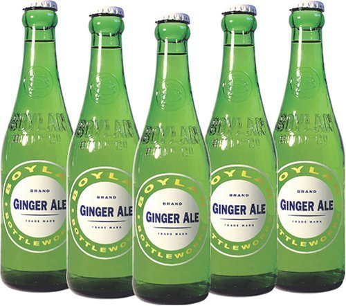 Old Crown Ale - Boylan Ginger Ale, 12 Ounce (12 Glass Bottles)