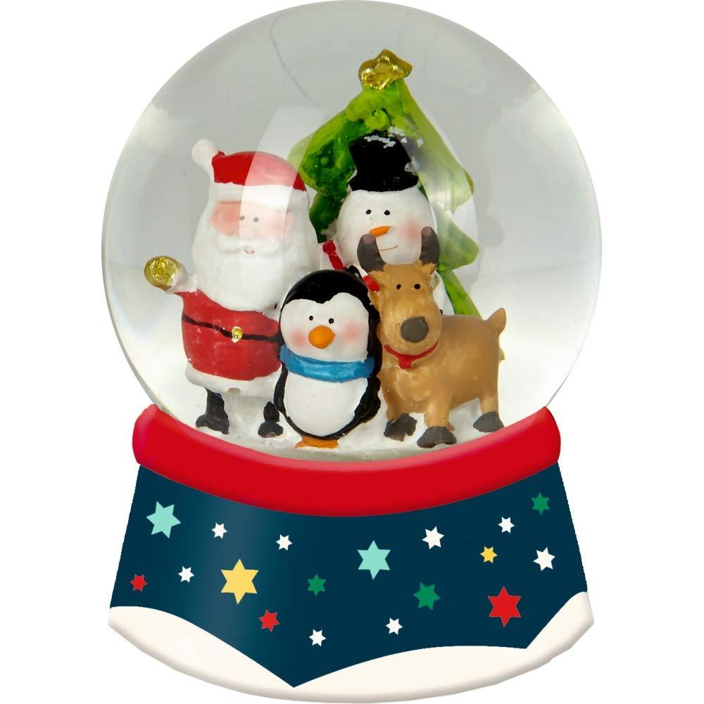 Die Spiegelburg 15062 Schneekugel mit Licht Frö hliche Weihnachten