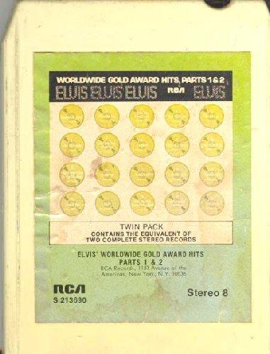 Elvis Presley: Elvis' Worldwide Gold Award Hits Parts 1 & 2 (8 track tape) (Elvis Worldwide Gold Award Hits Parts 1 2)