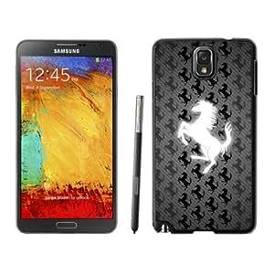 Samsung Galaxy Note 3 Ferrari logo 9 Black Screen Cellphone Case Fashion and Newest Design