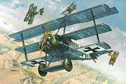 FOKKER F.I GERMAN AIRCRAFT PLANE WWI 1/32 RODEN 605