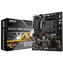 MSI B350M PRO-VD PLUS Motherboards