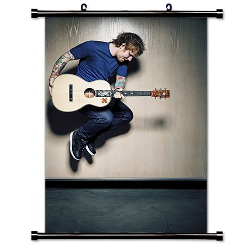 Ed Sheeran singer Wall Scroll Poster