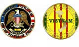 Proudly Served Vietnam Veteran Military Challenge Coin