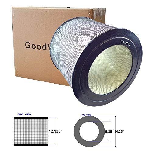 GOODVAC True HEPA Air Purifier Filter to Replace Honeywell 29500 That fit 50300 53000 Models